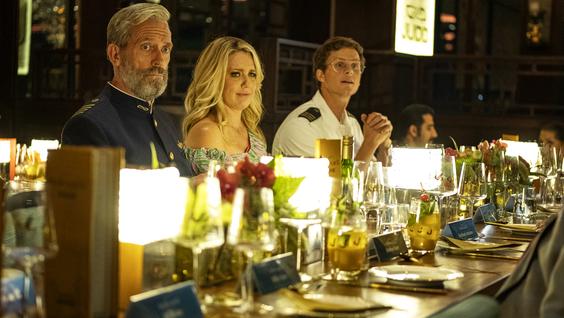 Hugh Laurie, Jessica St. Clair, Adam Palsson