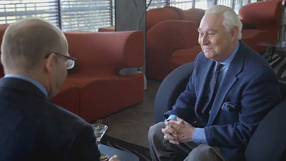 Axios Co-Founder Mike Allen, Roger Stone