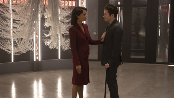 Thandie Newton, Simon Quarterman
