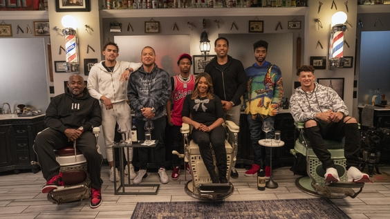 Steve Stoute, Trae Young, Paul Rivera, Roddy Ricch, Tiffany Haddish, Maverick Carter, Chadwick Boseman and Patrick Mahomes