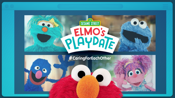 WarnerMedia Networks to Air SESAME STREET: ELMO'S PLAYDATE Special Simultaneously Across Networks on Tuesday, April 14
