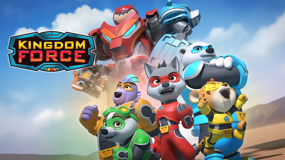 Kingdom Force – A New Force To Be Reckoned With, Coming To Boomerang!