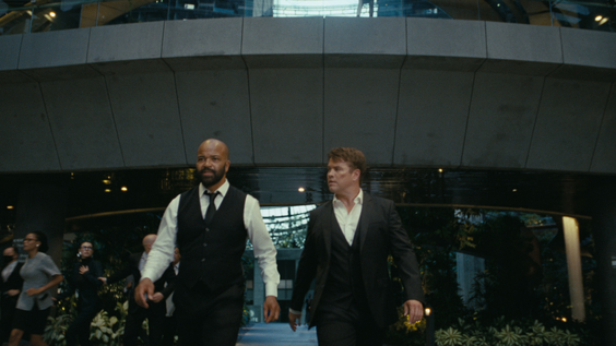 Jeffrey Wright, Luke Hemsworth