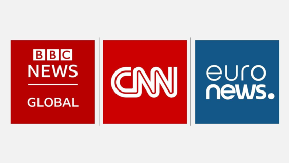 CNN BBC EURONEW
