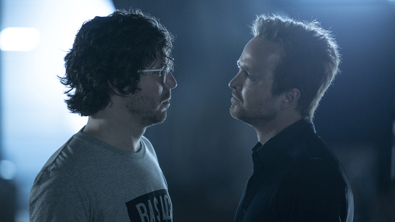 John Gallagher Jr., Aaron Paul