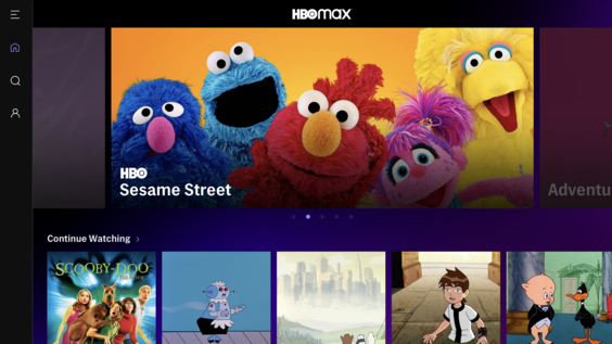 HBO Max - User Interface - Kids Homepage