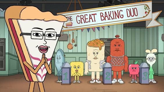 Enie van de Meiklokjes spricht Gastrolle in Cartoon Network Serie Apfel & Lauch