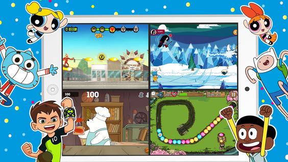 Grenzenloser Spielspaß: Cartoon Network bringt zwei neue, kostenlose Apps auf den Markt