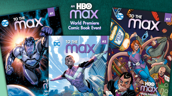 DC and HBO Max Announce New Original Digital Comic Series