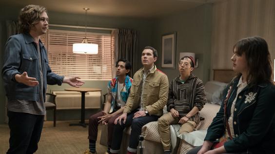 Logan Miller, Pablo Castelblanco, Michael Sturgis, Kenton Chen, Hari Nef