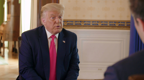 AXIOS to air an exclusive interview with President Trump Monday, August 3