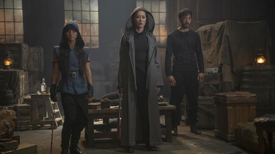 Jenny Umbhau, Olivia Cheng, Andrew Koji