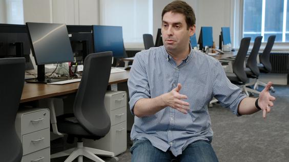 Josh Mendelsohn, CEO of Hawkfish