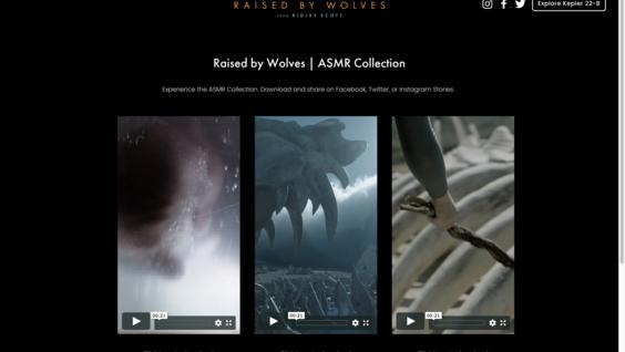 Raised by Wolves Premiere Digital Swag