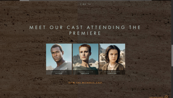The Android Cast Attending the Raised by Wolves Premiere