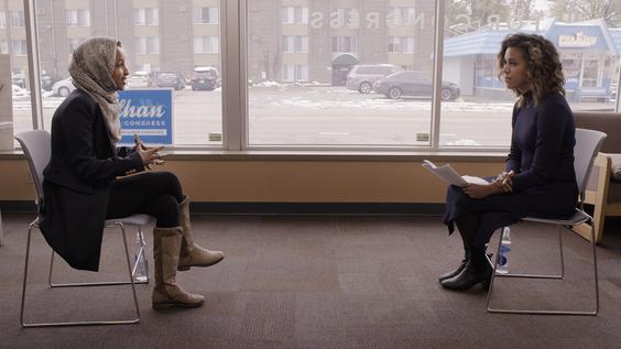 Congresswoman Ilhan Omar (D-MN), Axios political reporter Alexi McCammond
