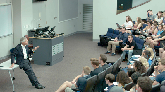 Jon Meacham teaching at Vanderbilt University