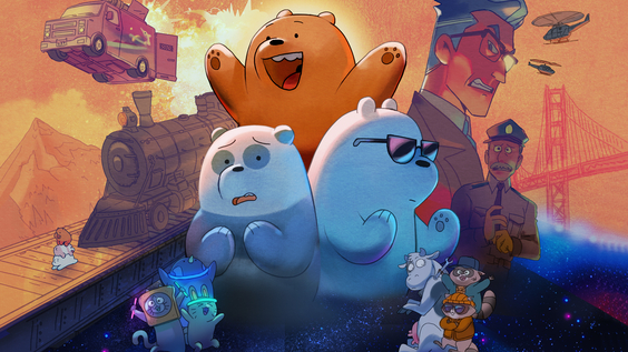Filmreifer Roadtrip: We Bare Bears: Der Film am 21. November bei Cartoon Network