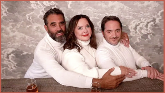 Bobby Cannavale, Melissa McCarthy, Ben Falcone
