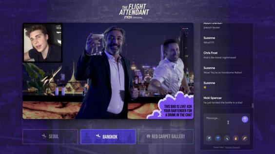 The Flight Attendant Premiere