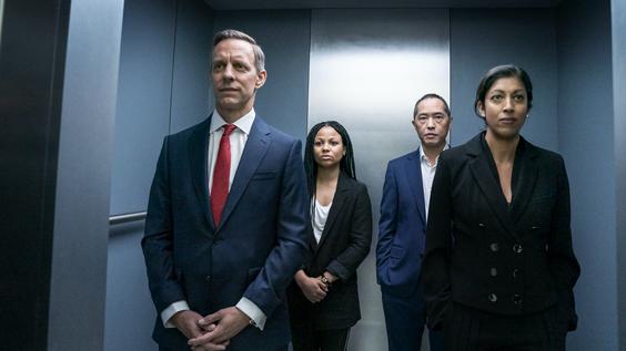Trevor White, Myha'la Herrold, Ken Leung, Priyanga Burford