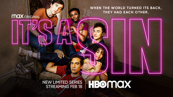 HBO Max Debuts Official Trailer & Key Art For Max Original Limited Series IT'S A SIN, Premiering February 18