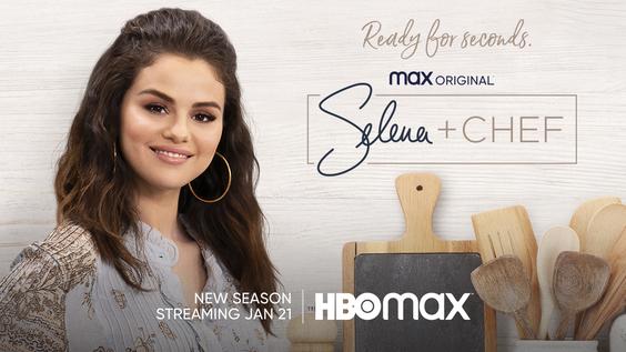 HBO Max Debuts New Trailer and Key Art for Max Original SELENA + CHEF Season Two, Premiering Jan. 21