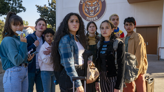 Chloe East, Uly Schlesinger, Nathanya Alexander, Haley Sanchez, Lukita Maxwell, Chase Sui Wonders, Justice Smith, Sydney Mae Diaz