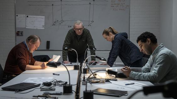 Hans Henrik Clemensen, Soren Malling, Laura Christensen, Dulfi Al-Jabouri