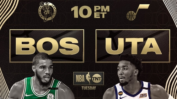 NBA on TNT Tuesday Night Doubleheader to be Highlighted by Boston Celtics and Jayson Tatum vs. Utah Jazz and Donovan Mitchell, Tonight at 10 p.m. ET