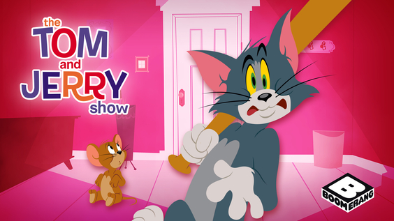 Boomerang's Tom and Jerry start March on a brand-new slate … and the chase is on!