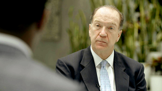 David Malpass, President, World Bank
