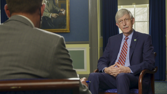 Dr. Francis Collins, MD, PhD, Director of the National Institute of Health (NIH)