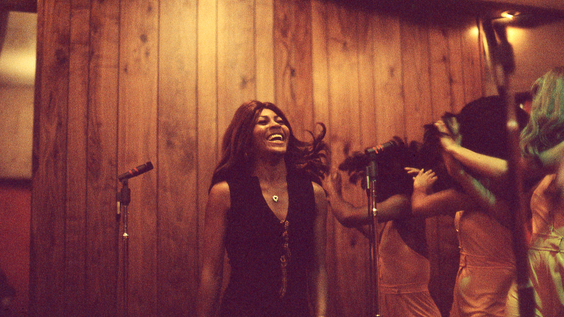 Tina Turner and Ikettes perform for Bolic Sound KMET Broadcast (May 1973)
