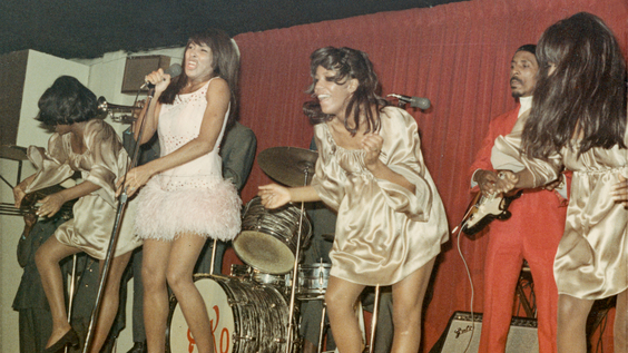 Tina and Ikettes Revue Performance (1965)