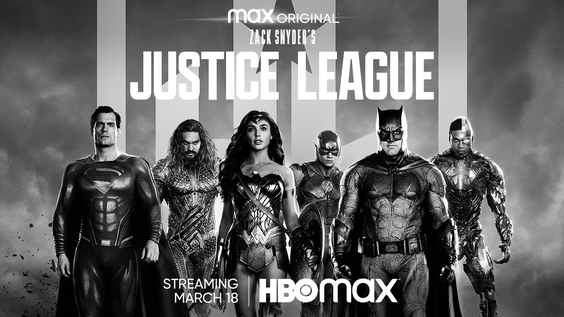 ZACK SNYDER'S JUSTICE LEAGUE Key Art Now Available