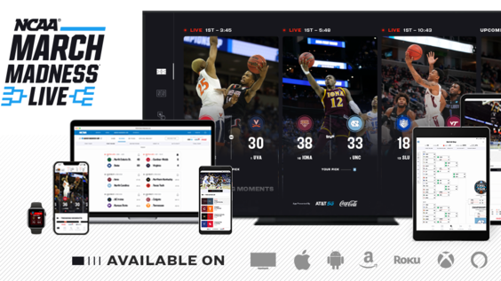 NCAA® March Madness® Live to Debut All-New Design & Enhanced Features