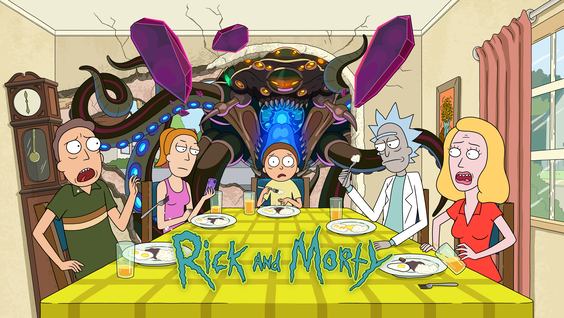Rick and Morty Bends Space and Time With Global Premiere