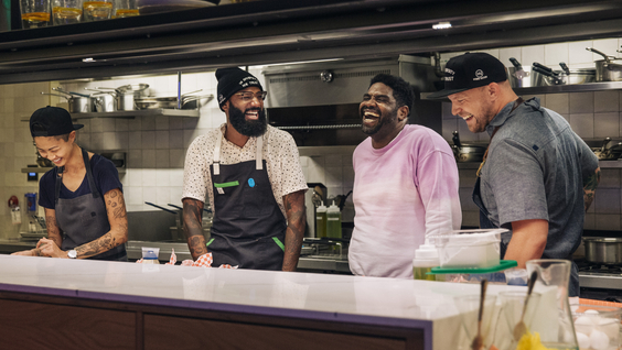 Kristen Kish, Justin Sutherland, Ron Funches, Jeremy Ford