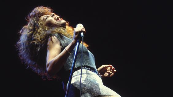 Tina Turner in concert in Versailles, France (1990)