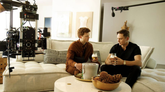 Caleb Foote and Billy Magnussen