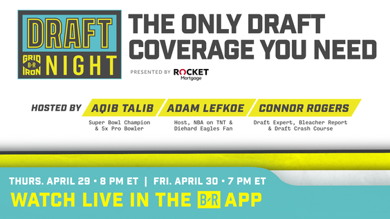 Bleacher Report's B/R Gridiron to Debut Two New Live Stream Events Covering the 2021 NFL Draft