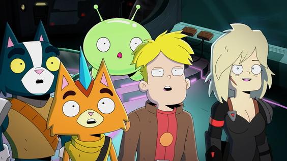 """Deutsche Erstausstrahlung der dritten Staffel """"Final Space"""" ab 9. Juni auf TNT Comedy"""