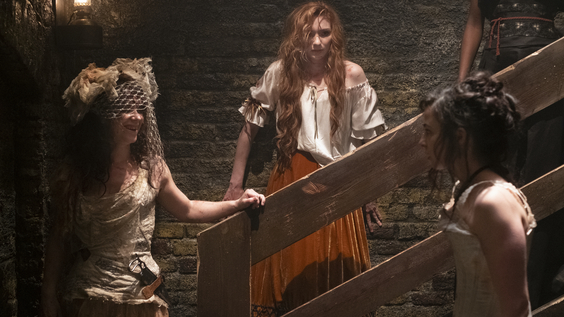 Amy Manson, Eleanor Tomlinson, Laura Donnelly