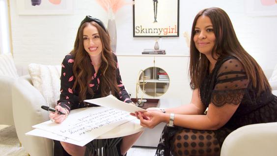 Contestants Milokssy And Nicole