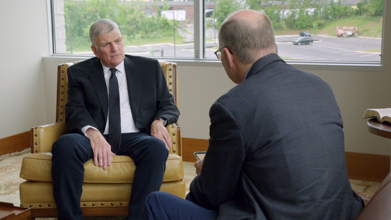 Reverend Franklin Graham, Axios Co-Founder Mike Allen