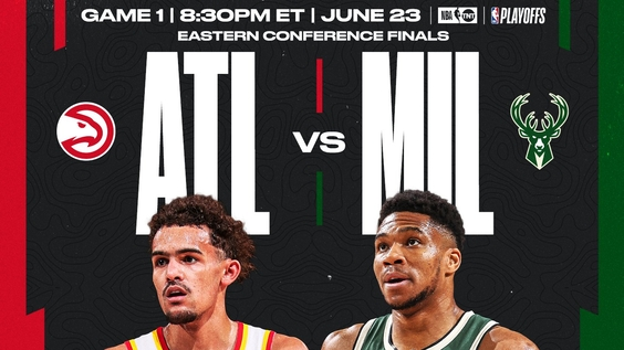 TNT to Exclusively Present 2021 NBA Eastern Conference Finals presented by AT&T – Milwaukee Bucks vs. Atlanta Hawks – with Game 1 Set for Wednesday, June 23, at 8:30 p.m. ET