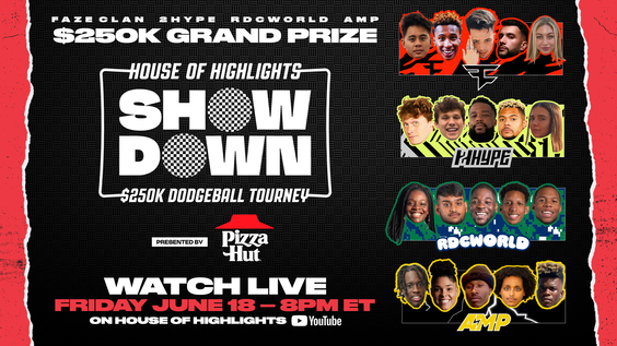 House of Highlights Showdown Announced for June 18