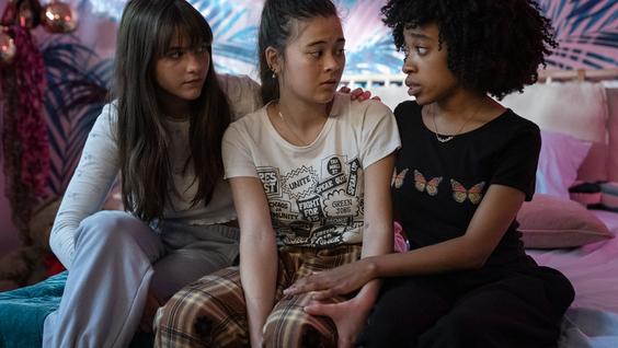 Chloe East, Lukita Maxwell,  Nathanya Alexander