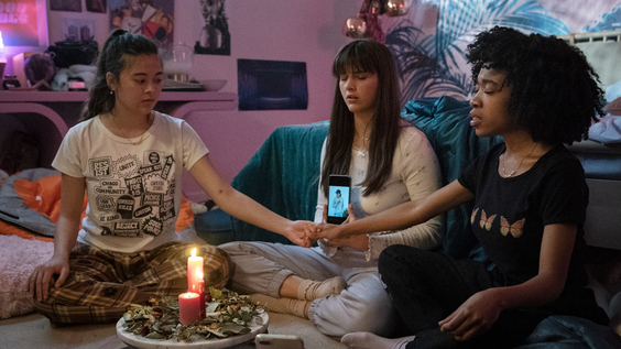 Lukita Maxwell,  Chloe East, Nathanya Alexander